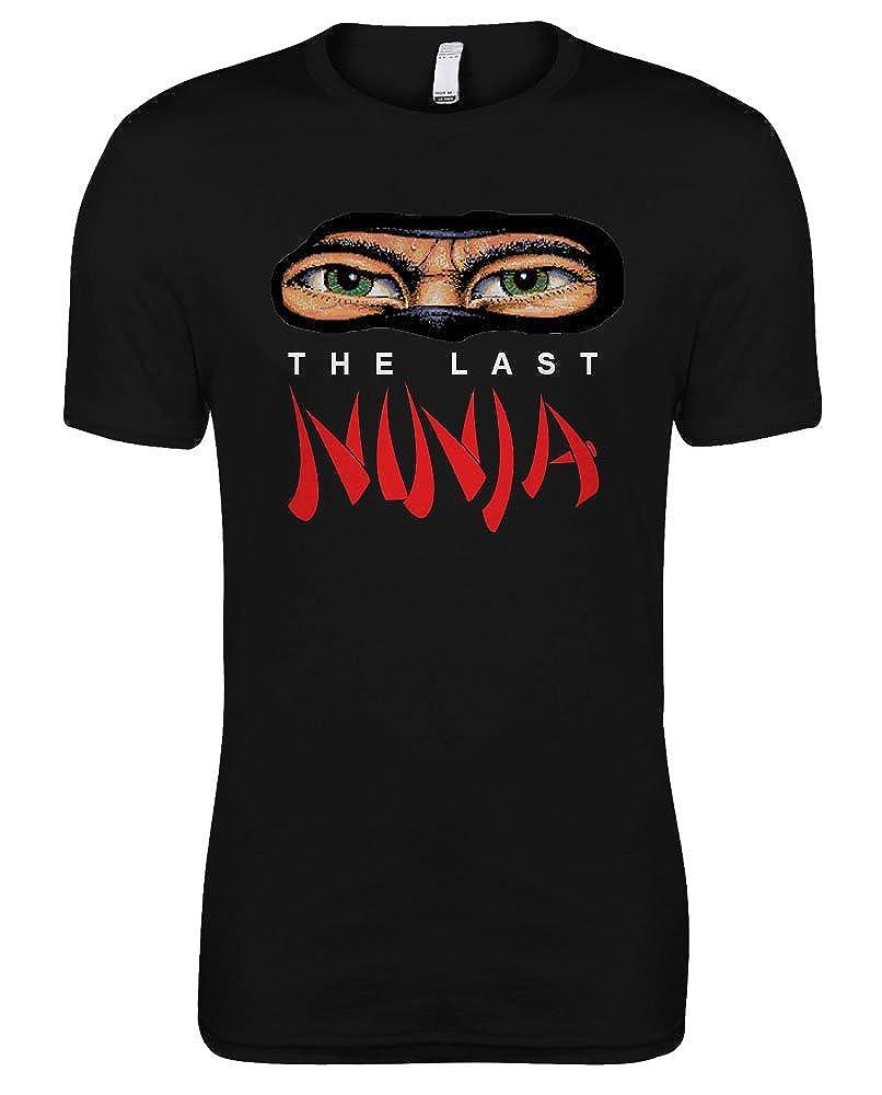 De el último Ninja - Retro c64 Games T-camiseta de manga ...