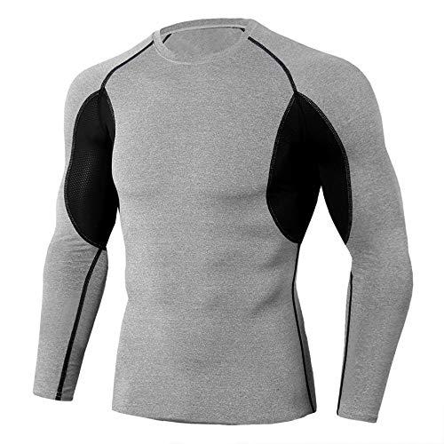 Ducomi Compressie-Trainingspak Voor Heren – Rekbare Lichaamsvormende Gymkleding – Afslankende Sportlegging…