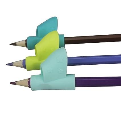 Pencil Grip,, 3 piezas/set los niños Lápiz Soporte pluma escritura ayuda agarre