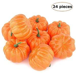 """StillCool Mini Artificial Pumpkins 3"""" (80mm) 3"""