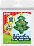 Perler Beads Christmas Tree Activity Kit with Pegboard (225 Count), 80-72228