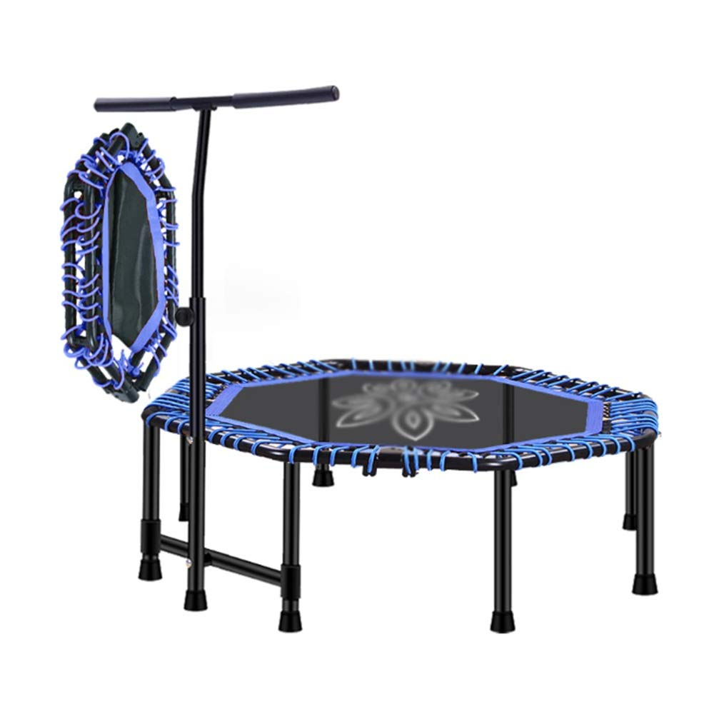 precio razonable azul Caixia trampolín, Trampolín de 48 con con con manija Estable - Octogonal - Cuatro Pliegues - Equipo de Ejercicios para Adultos o niños (Color   azul)  mejor vendido