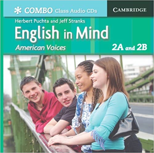 English in Mind Combos 2A and 2B, American Voices Class Audio CDs: 2A amp: 2B