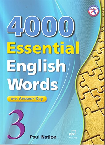 4000 Essential English Words, Book 3 with Answer (Book 3 Answer Key)