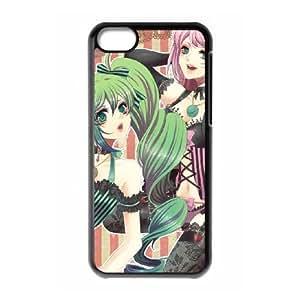 luka miku iPhone 5c Cell Phone Case Black Customized Toy pxf005-3725137
