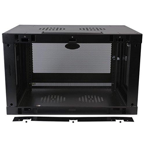 Tripp Lite 6U Wall Mount Rack Enclosure Server Cabinet, 20.5 in. Deep, Switch-Depth (SRW6UDP) by Tripp Lite (Image #3)