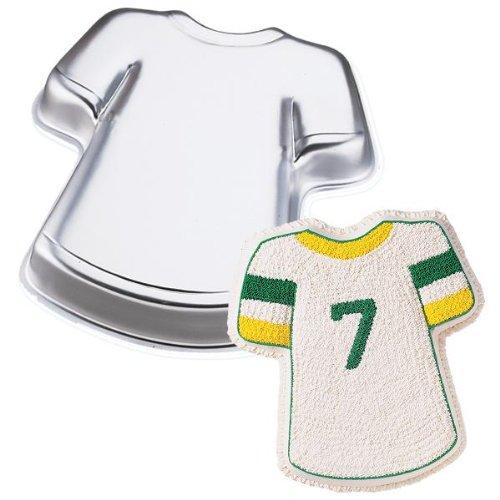 Wilton T-Shirt Sport Team Jersey Hawaiian Shirt Cake Pan~Ret