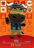 Nintendo Animal Crossing Happy Home Designer Amiibo Card vic 187/200 USA Version