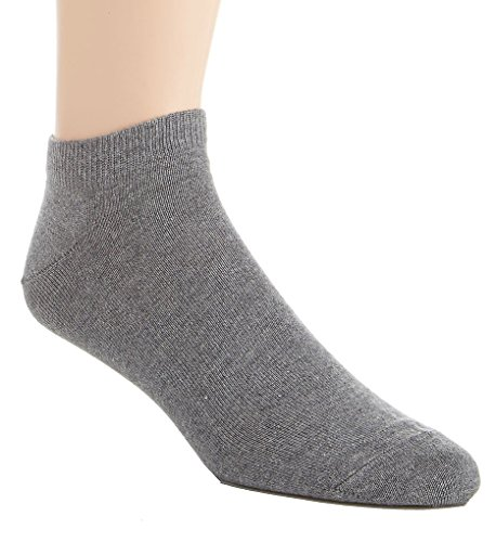 (Falke Casual Family Short Cotton Sneaker Sock (14626) M/Light Grey Melange)