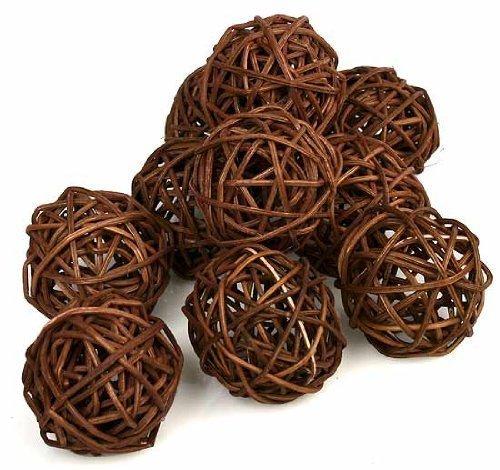 PAPAYA SHOP Brown Twig Grapevine Balls by Papaya Shop (Image #3)