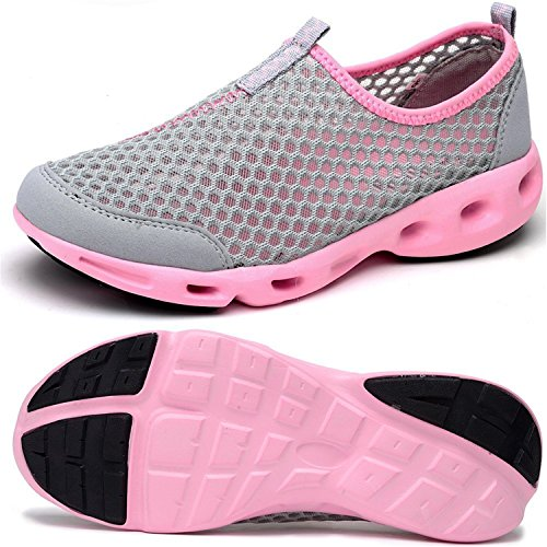 Losver Women's Mesh Slip On Quick Drying Aqua Water, used for sale  Delivered anywhere in USA