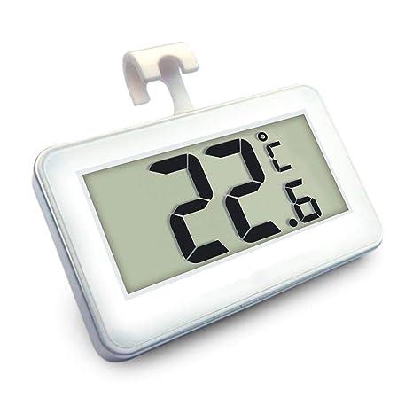 FOONEE Termómetro Digital frigorífico y congelador, termómetro con Pantalla LCD Grande, hogar, restaurantes