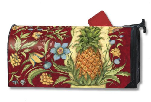 MailWraps Colonial Pineapple Mailbox Cover #02030 Mailwraps Pineapples