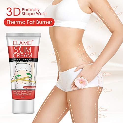 Slim Cream, Hot Cream, Slim Massage Cream for Shaping Waist, Abdomen and Buttocks 4