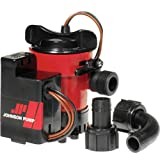 Johnson Pumps 05503-00 12V 500 GPH Cartridge Combo