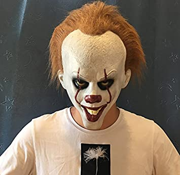 a38483e95 Amazon.com  Pennywise Clown Head mask.Halloween Costumes.Used for ...