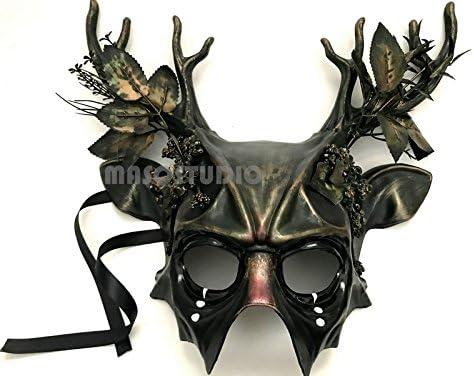 MASQSTUDIO - Máscara de Pelota de Halloween, diseño de ángel ...