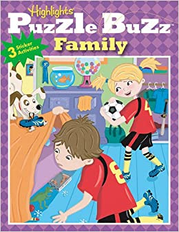Book Puzzle Buzz 2: Family (Highlights Puzzle Buzz) (v. 2)
