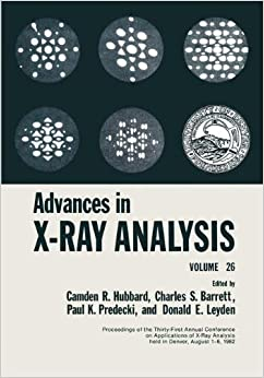 Book Advances in X-Ray Analysis: Volume 26