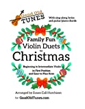 Family Fun Violin Duets for Christmas: with