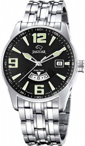 Jaguar J627/D – Reloj de pulsera de hombre, correa de acero inoxidable color