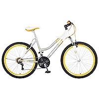 Bicicleta Benotto Madeira FS MTB Acero R26 21V Dama Sunrace Frenos V