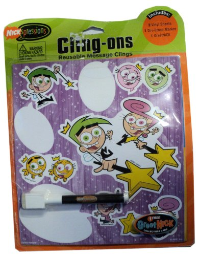 Nickspressions Cling-ons - Fairly Oddparents by American Greetings Corp.