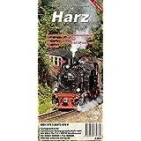 Harz: Biker- und Tourismuskarte (wetterfest)