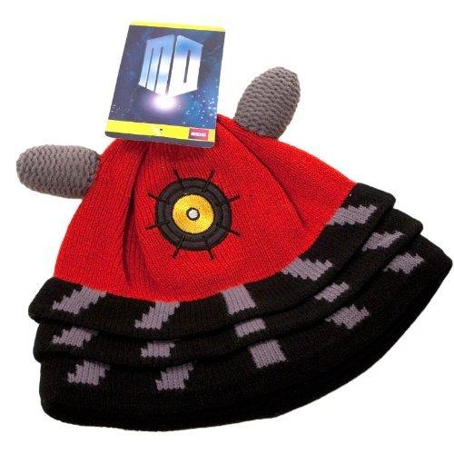 Dalek Hat (Dalek Beanie Costume Accessory)
