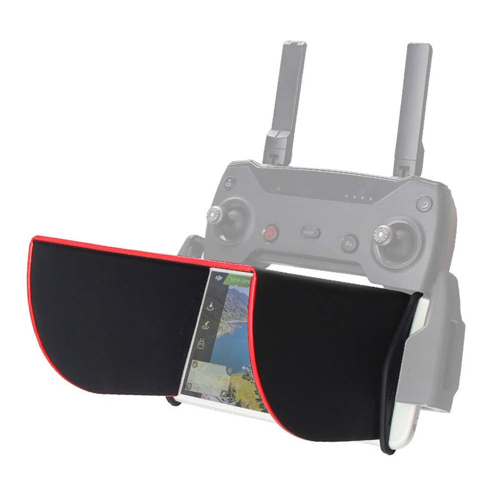Rucan DJI Mavic 2 サンフード サンシェードカバー 折りたたみ式 5.5インチ電話用 リモートコントローラー用   B07H2WQ61V