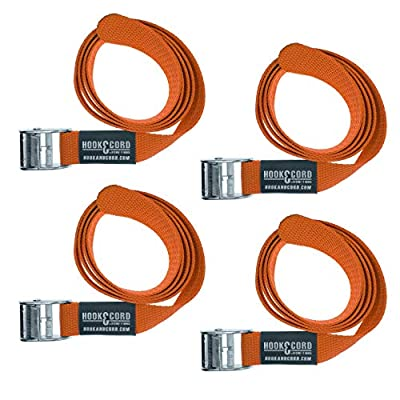 SECURE IT QUICK - Cinch Tie Down CAM Cargo Utility Lashing Straps - 1