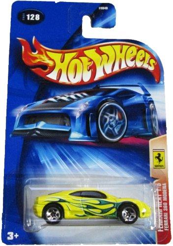 Hot Wheels 2004 Ferrari Heat 1/5 360 Modena YELLOW - Ferrari Yellow