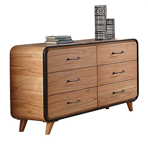 Acme Furniture 30765 Carla Dresser, Oak/Black
