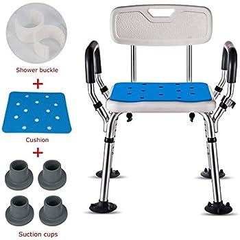 Amazon Com Ysyd Bath Shower Seat Adjustable Height Spa