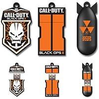 Call of Duty: 3 Pack Black Ops II 8GB USB Flash Drive, Badge Columns, Bomb