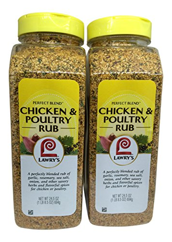 Lawrys Perfect Blend Chicken & Poultry Rub (2 Pack) by Lawry's Perfect Blend
