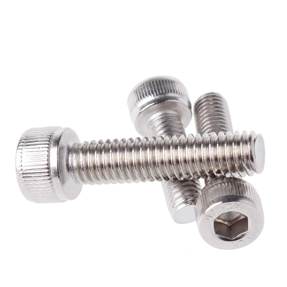 XFentech Résistant à la corrosion Boulons - M6 Boulons à vis en acier Inoxydable (M6*70)