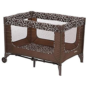 Cosco Funsport Playard, Features Chocolate Brown Spots On a Field Of Tan, Quigley by Coscoà Â