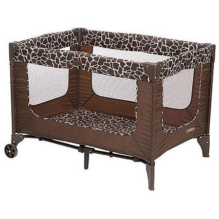 Cosco Funsport Playard, Features Chocolate Brown Spots On a Field Of Tan, Quigley by Cosco -