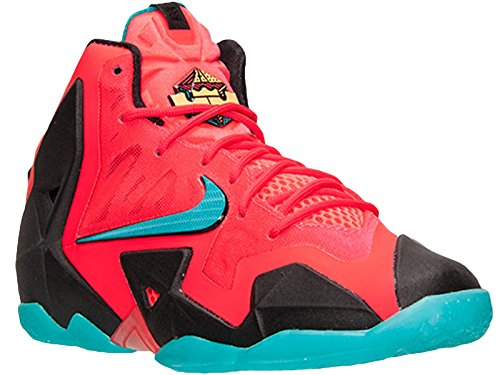 Lebron 11 Laser Crimson Turbo Green Black