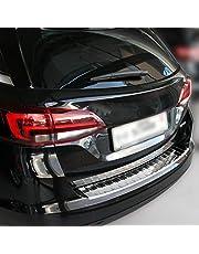 Recambo CT-LKS-1750 Bumperbescherming roestvrij staal gepolijst voor Opel Astra K Sports Tourer | vanaf 2015, Large