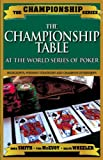 Championship Table, Dana Smith and Tom McEvoy, 1580422292