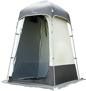 Acampar al Aire Libre Ropa cambiante Ducha Baño Tienda de campaña Camping Baño Modelo Cambio de Ropa Pérgola de Pesca para Aumentar 140x140x220 (Alto) Cm: Amazon.es: Deportes y aire libre