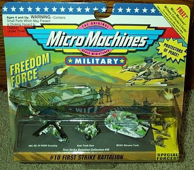First Strike Battalion #10 Micro Machines Military - Mi 24 Hind Helicopter