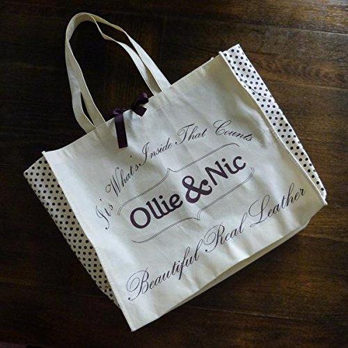 Ollie & Nic , Sac bandoulière pour femme marron peau