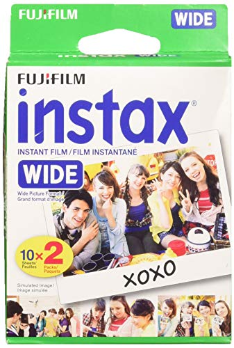 Fuji Wide Instant Color Film Instax for 200/210 Cameras -...
