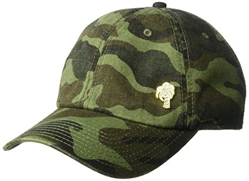 O'Neill Women's Camo Washed Twill Embroidered Baseball Cap, Army, One Size Washed Twill Camo