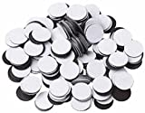 250 Round Self Adhesive Magnetic Circles .5'' Diameter 4 mil Magnets Arts and Crafts School Magnet Dot Tape New Cute Self-adhesive