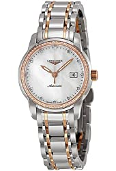Longines Saint Imier Automatic Diamond Rose Gold and Steel Ladies Watch L25635877