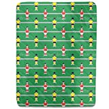 Table Soccer Fitted Sheet: King Luxury Microfiber, Soft, Breathable
